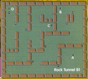 rock tunnel map